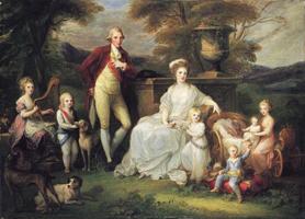 A família de Ferdinando IV