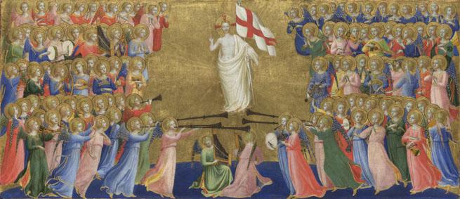 Os Cincos Ofícios que são Próprios dos Anjos.
