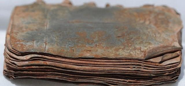 Livros de Bronze Conteriam a mais Antiga Representação de Nosso Senhor Jesus Cristo na Paixão