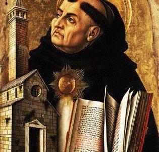 A Humildade de São Tomás de Aquino