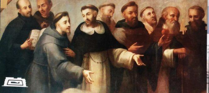O FUNDADOR REPRODUZ EM SI UMA DAS VIRTUDES DE NOSSO SENHOR JESUS CRISTO