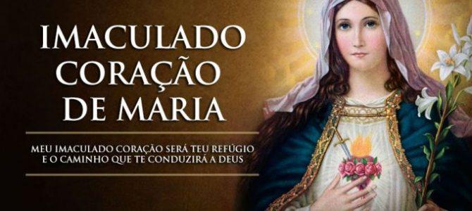 FÁTIMA E O IMACULADO ORAÇÃO DE MARIA