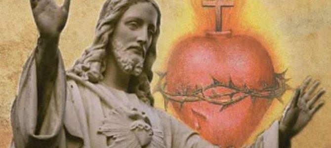O DESAFIO DA JUVENTUDE E O SAGRADO CORAÇÃO DE JESUS